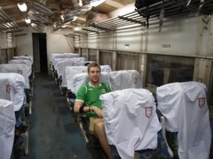 Train from Yangon to Mandalay