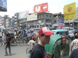 Rickshaws in Dhaka, Bangladesh