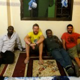 Mohamed, Me, Fast Eddy and Paul
