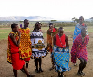 Masia tribe in Kenya