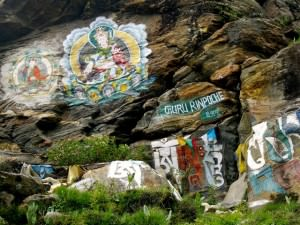 buddhist paintings on everest