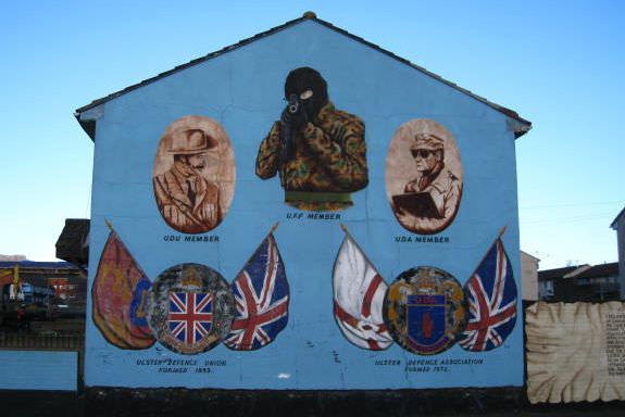 Taking a political tour in belfast northern ireland one for Mural belfast