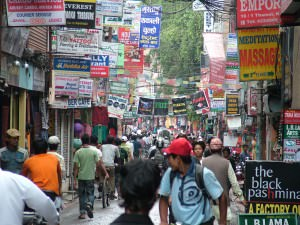 Thamel in the day time