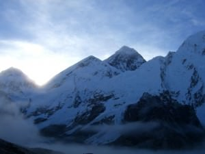 mount everest view from base camp