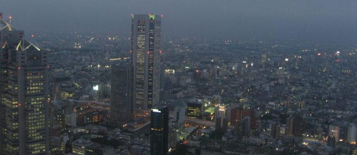 The view from the Tokyo Metropolitan Government Office