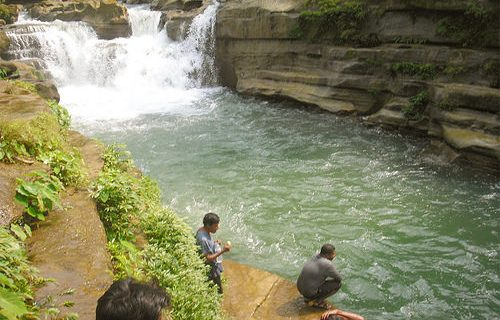 Nafa-Khum waterfall Bangladesh