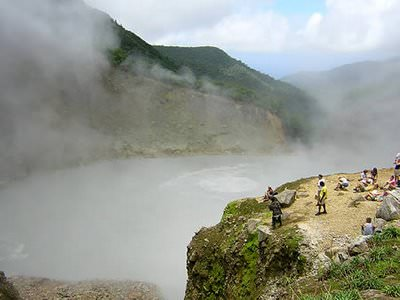 Boiling Lake Dominican Republic