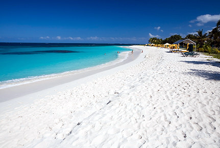 Pure White Sand Beach