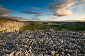 Limestone Pavements in Malham