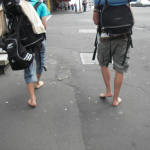 Tuesday's Travel Rant: Barefoot backpackers