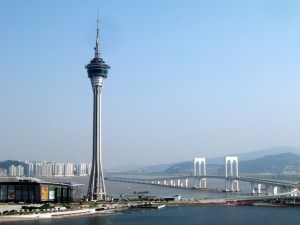 highest bungee jump in the world Macau