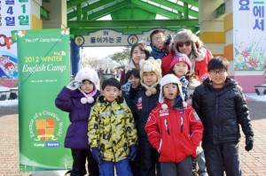 winter english camp