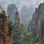 The Avatar Mountains, China –  Zhangjiajie National Park
