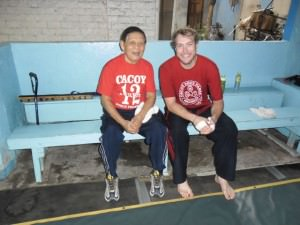 training martial arts in the phillippines
