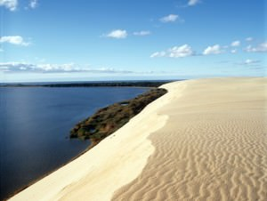 Curonian Spit beach  lithuania