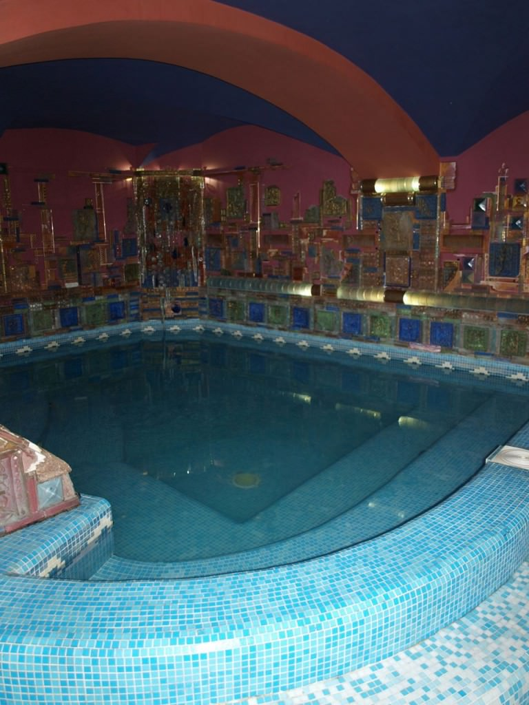 Russian bath house