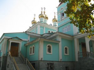 St Nicholas Cathedral almaty