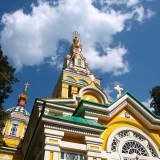 churches in almaty