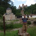 Visiting Dracula's Castle in Romania