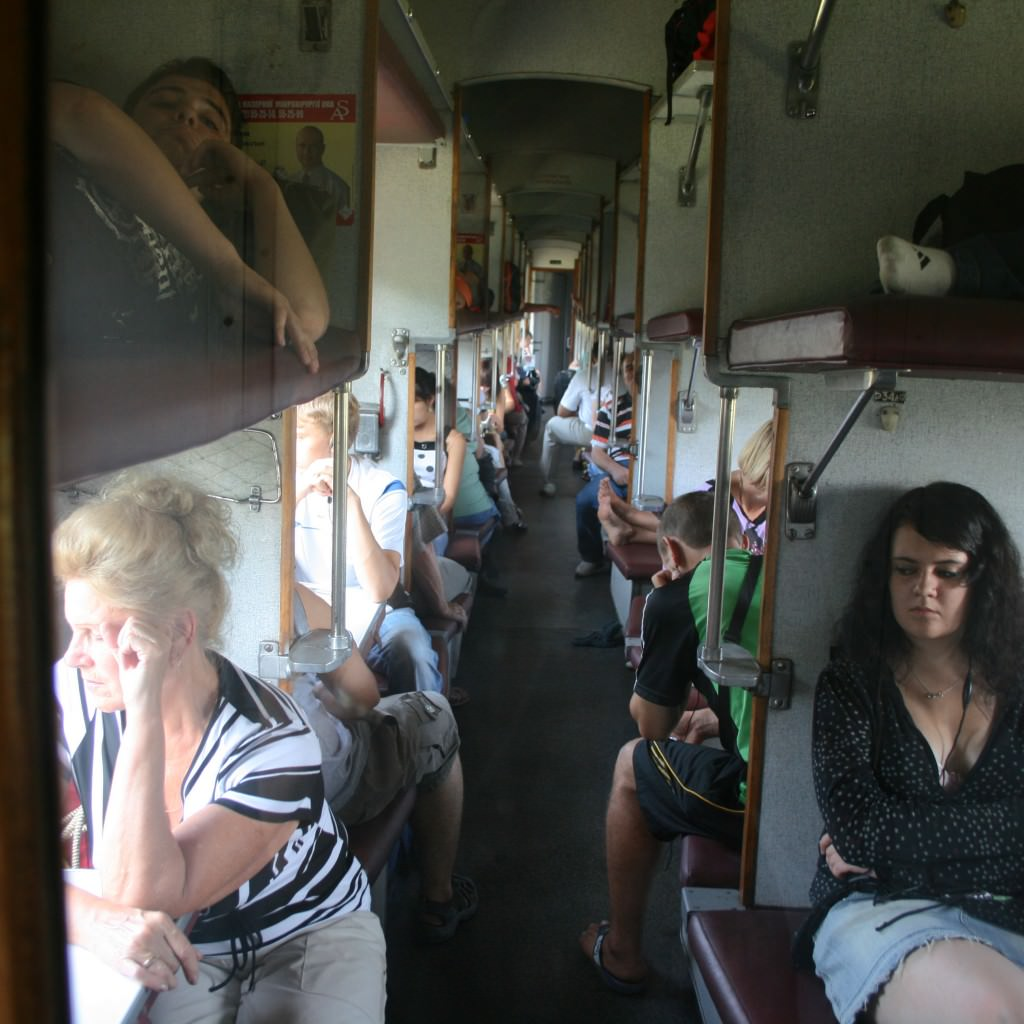 third class trains in ukraine