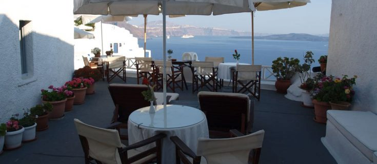 best hotel in Oia Santorini