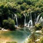 Visiting the Kravice Waterfalls, Bosnia