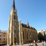 Traveling in Serbia; Hanging out in Novi Sad