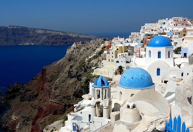 The Most Beautiful Place In The World Santorini Possibly One Step 4ward
