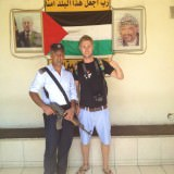 backpacking in palestine