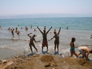 johnny ward dead sea israel