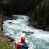White water rafting in British Columbia