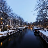 amsterdam in winter