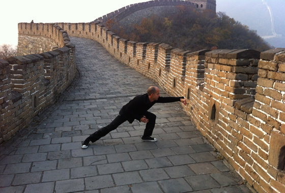 great wall of china tai chi