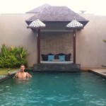 Staying in A Private Villa in Bali