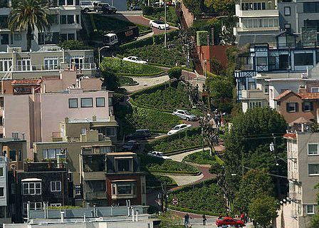 Lombard Street from Coit Tower[19]