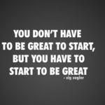 Motivational Monday: Making a Start On Your Dreams
