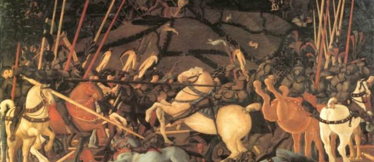 battle of san romano uffizi