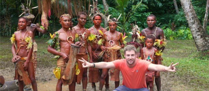 johnny ward john ward onestep4ward http://www.onestep4ward.com backpacking papua new guinea