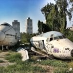 The Airplane Graveyard in Bangkok,   Thailand