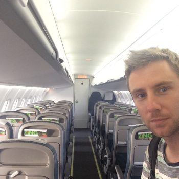 Only person on my flight!