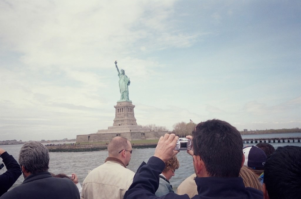 the Statue of Liberty before I knew how to use a camera properly!