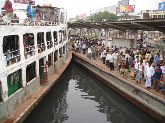 boat from dhaka to khulna, rocket steam in bangladesh