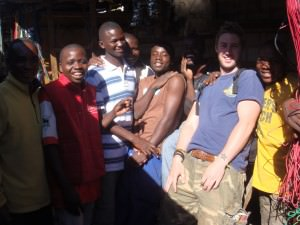 Lusaka Market,   backpacking in Zambia