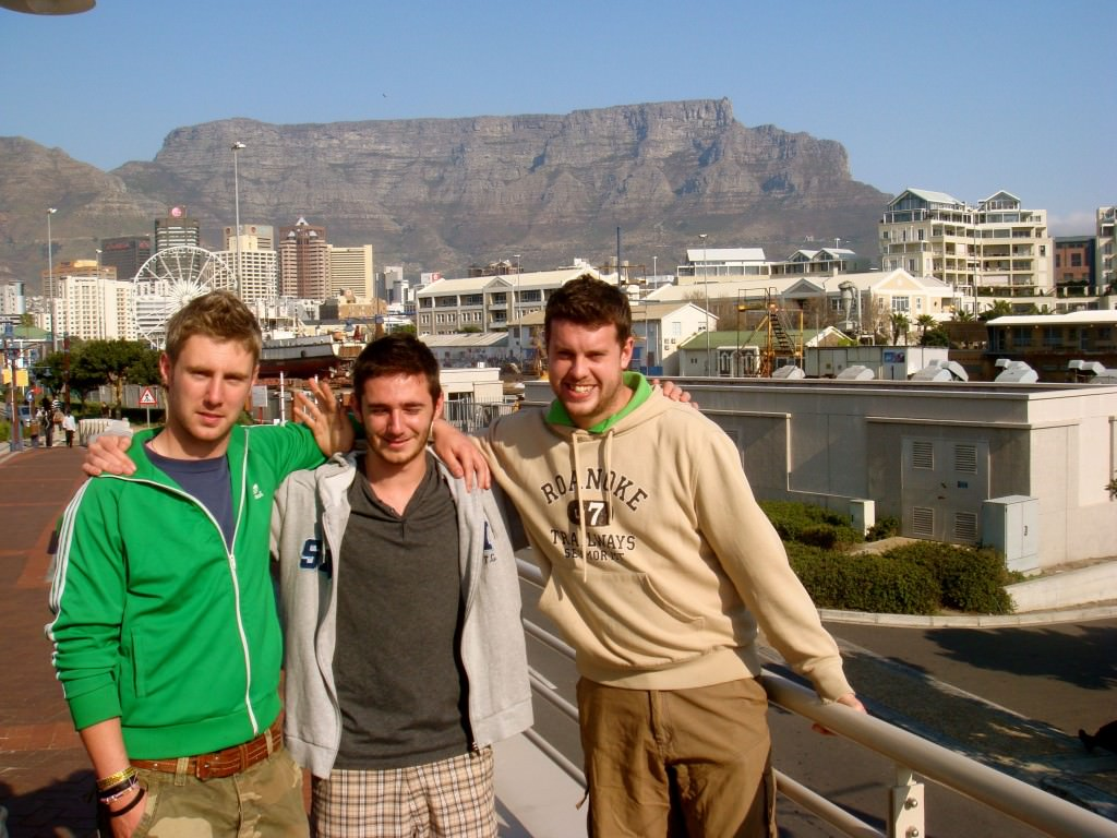 Friends at Table Mountain