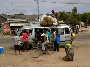 Local public transport in Mozambique