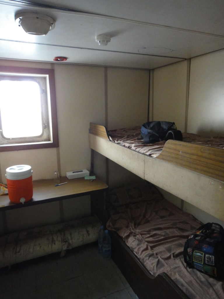 Ist class cabin boat from Egypt to Sudan