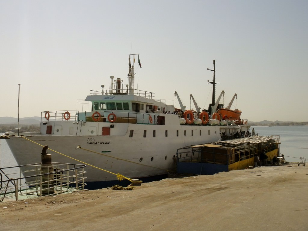 The ferry from Wadi Halfa to Aswan