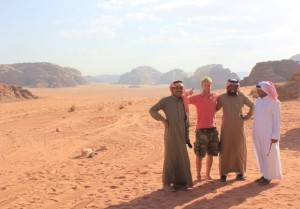 Bedouin at Wadi Rum