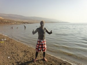 Mud at the Dead Sea