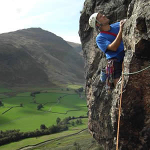 rockclimbing in the lake district